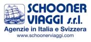 Logo SCHOONER CON SITO E SCRITTA AGENZIE IN ITALIA E SVIZZERA